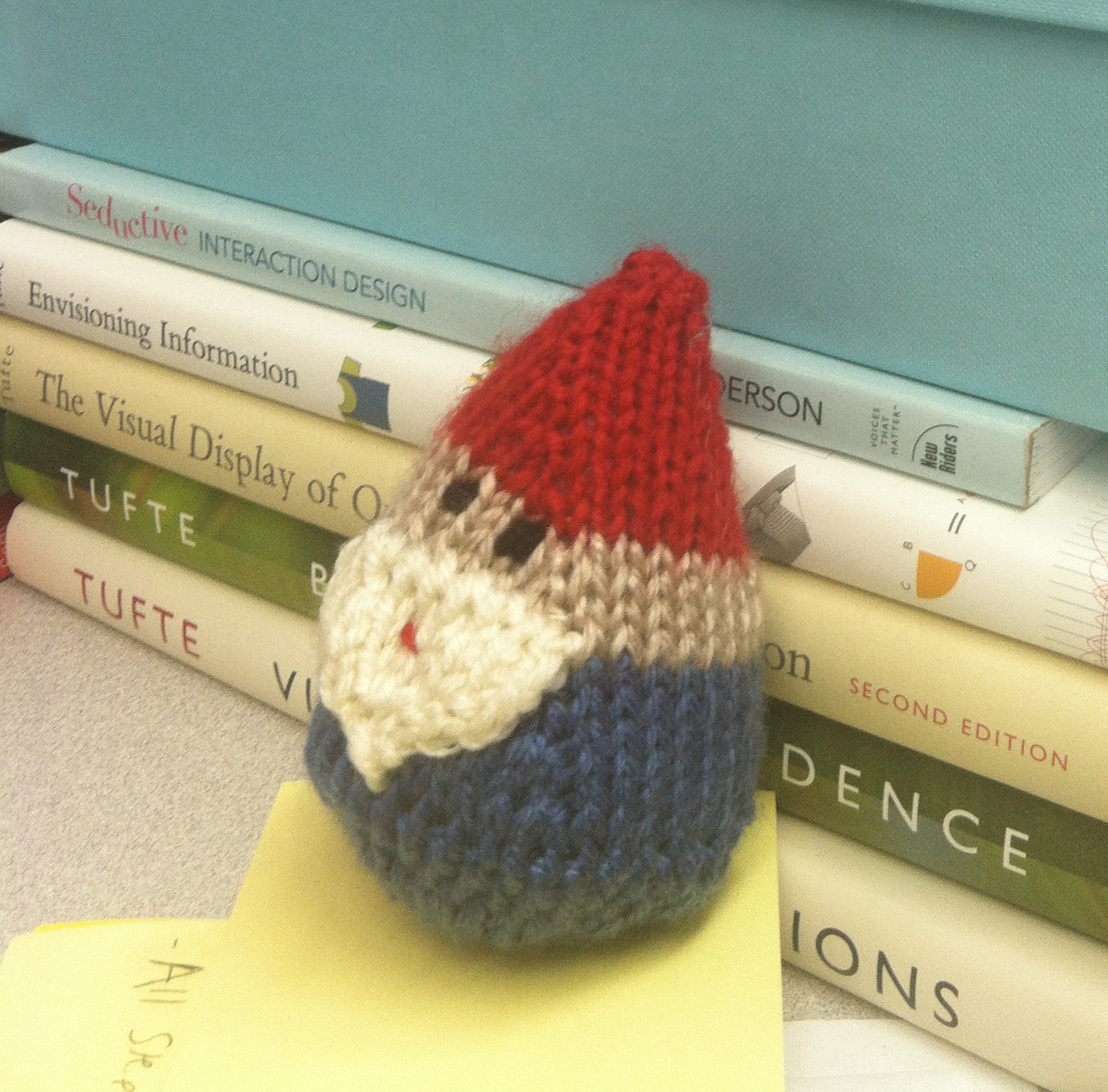 Modled after the Amelie gnome - a great travel companion.