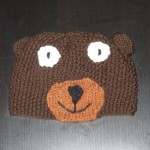 Bear hat, design by Marli