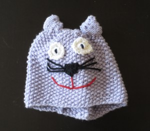 Cat hat, design by Marli