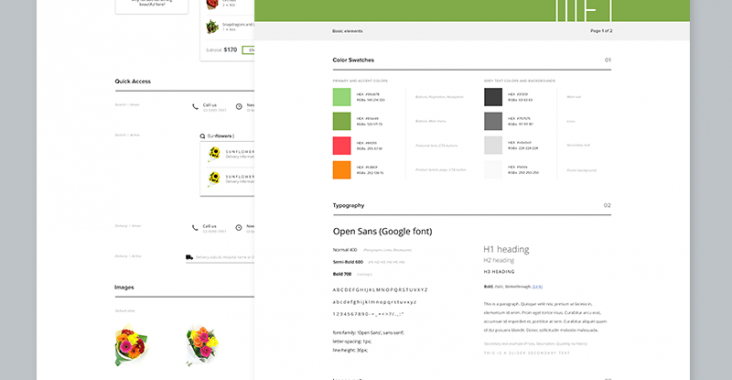 An example of a style guide