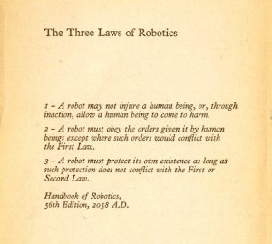 Is our UX ethical responsibility to follow the 3 laws of robotics?