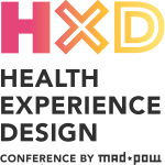 Logo for the Health Experience Design conference